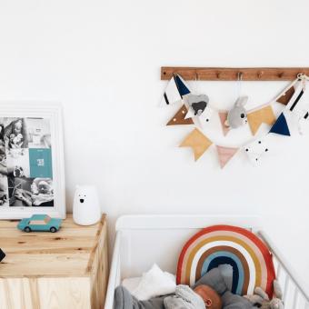 Opinie, bezpieczne atestowane łóżeczko dziecięce i niemowlęce Classic Cot 120×60 Woodies Safe Dreams