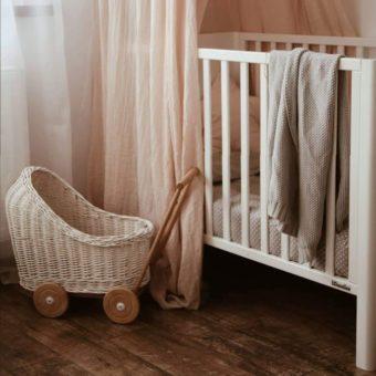 Opinie, ceryfikowane łóżeczko dziecięce i niemowlęce Smooth Cot 120×60 Woodies® Safe Dreams