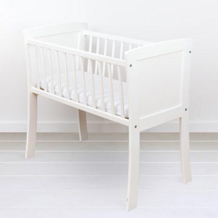 Mini-łóżeczko niemowlęce Classic Crib - drewniane łóżeczka dla niemowląt 90x40 | Woodies® Safe Dreams - meble i materace dla dzieci