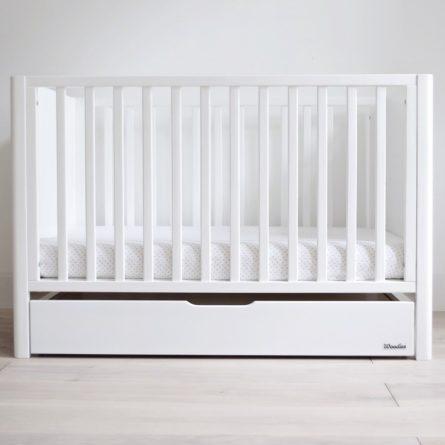 Szuflada z przykryciem do łóżeczka niemowlęcego i dziecięcego Smooth Cot 120x60 - szuflady dla niemowląt i dzieci do łóżeczek 120x60 | Woodies® Safe Dreams - meble i materace dla dzieci