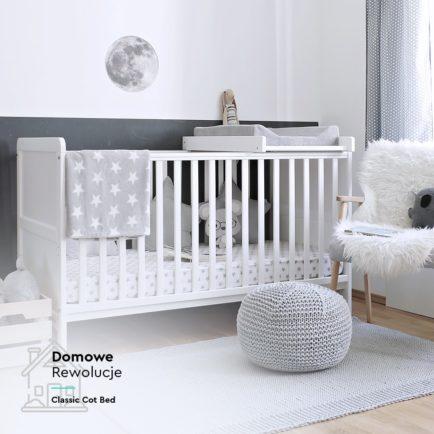 Łóżeczko dziecięce Classic Cot Bed 140×70