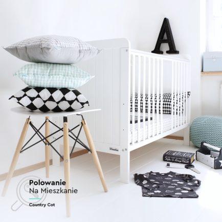 Łóżeczko niemowlęce Country Cot 120×60