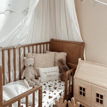 Opinie, bezpieczne atestowane łóżeczko dziecięce i niemowlęce Noble Cot Vintage 120×60 Woodies Safe Dreams