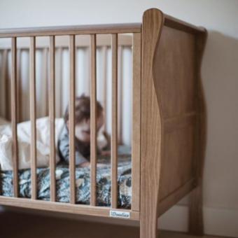 Opinie, łóżeczko niemowlęce i dziecięce Noble Cot Vintage 120×60 Woodies Safe Dreams