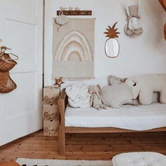 Opinie, łóżeczko drewniane niemowlęce i bezpieczne Noble Toddler Bed Vintage Woodies Safe Dreams