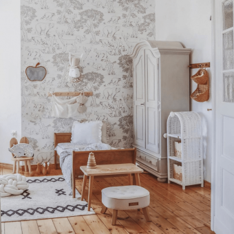 Opinie, atestowane łóżeczko dziecięce i niemowlęce Noble Toddler Bed Vintage 140×70 Woodies Safe Dreams