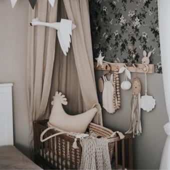 Opinie, certyfikowane i atestowane bezpieczne łóżeczko dziecięce i niemowlęce Bedside Crib Vintage Woodies Safe Dreams