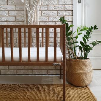 Opinie, atestowane mini łóżeczko dziecięce i niemowlęce Bedside Crib Vintage Woodies® Safe Dreams