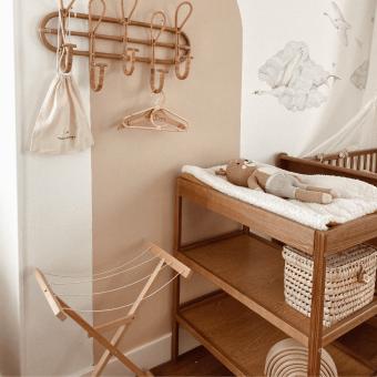 Opinie, atestowane przewijak dla niemowląt Classic Changer Vintage Woodies Safe Dreams