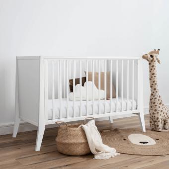 Opinie, certyfikowane niemowlęce i dziecięce drewniane łóżeczko Slim Cot 120×60 Woodies® Safe Dreams