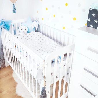 miniovee Opinie, niemowlęce i dziecięce drewniane łóżeczko Classic Cot Woodies ® Safe Dreams