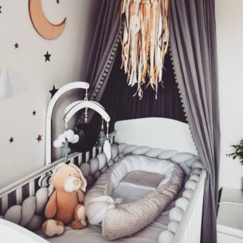 mamatosii Opinie, łóżeczko niemowlęce i dziecięce drewniane Harbour Cot Bed Woodies Safe Dreams
