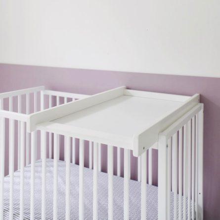 Przewijak niemowlęcy Cot Top Changer - przewijaki nakładane dla niemowląt 72x47 w stylu klasycznym | Woodies® Safe Dreams - meble i materace dla dzieci