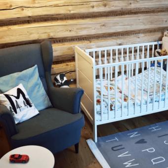 SG9 blania_art Opinie dziecięce drewniane łóżeczko Modern Cot Woodies ® Safe Dreams