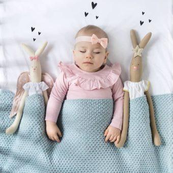 SG6 onawielepiej Strona Główna, drewniane łóżeczko dziecięce i niemowlęce Classic Cot Bed Woodies Safe Dreams