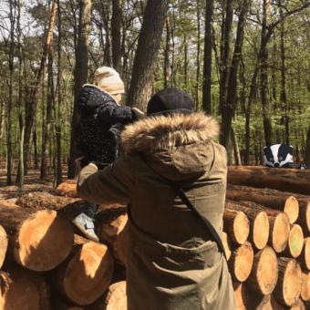 Strona Główna Woodies Safe Dreams drewniane łóżeczka Michał z córką
