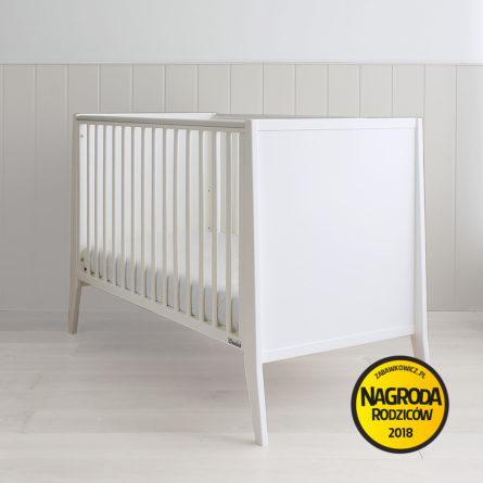 Łóżeczko niemowlęce i dziecięce Modern Cot - łóżeczka dla niemowląt i dzieci 120x60 w stylu nowoczesnym | Woodies® Safe Dreams - meble i materace dla dzieci