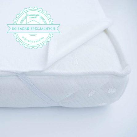 Wodoodporny ochraniacz na materac dla niemowlaka uszyty w Polsce | Chroni pościel do łóżeczka oraz materac dla dziecka | Skompletuj wyprawkę dla noworodka