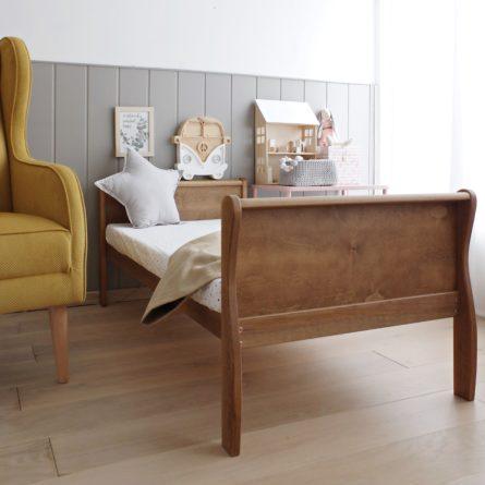 Łóżeczko dziecięce Noble Toddler Bed Vintage - łóżeczka dla dzieci 140x70 w stylu vintage | Woodies® Safe Dreams - meble i materace dla dzieci