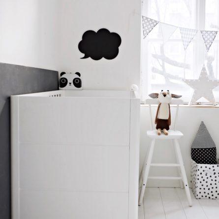 Łóżeczko niemowlęce i dziecięce Smooth Cot Bed - łóżeczka dla niemowląt i dzieci z opcją Junior 140x70 | Woodies® Safe Dreams - meble i materace dla dzieci