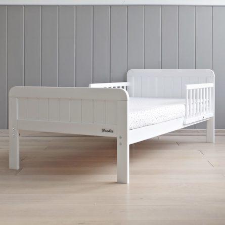 Łóżeczko dziecięce Country Toddler Bed - łóżeczka dla dzieci 140x70 w stylu rustykalnym | Woodies® Safe Dreams - meble i materace dla dzieci