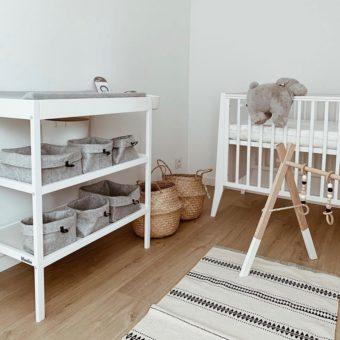 Opinie, łóżeczko drewniane dziecięce i niemowlęce Slim Cot 120×60 Woodies Safe Dreams