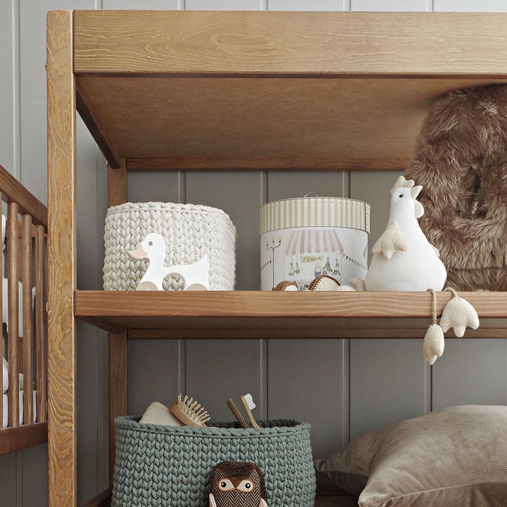 Przewijak niemowlęcy Classic Changer - przewijaki dla niemowląt 70x40 w stylu klasycznym | Woodies® Safe Dreams - meble i materace dla dzieci