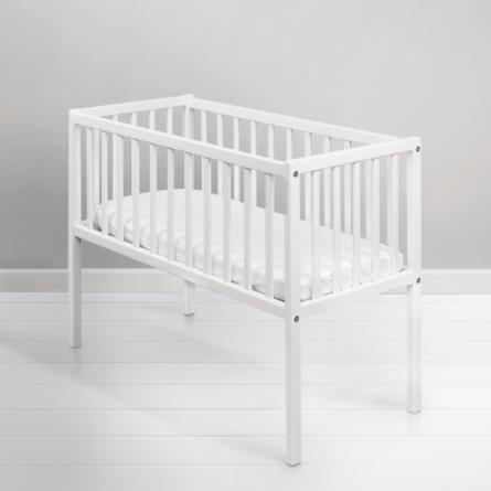 Mini-łóżeczko niemowlęce Bedside Crib - drewniane łóżeczka dla niemowląt 90x40 | Woodies® Safe Dreams - meble i materace dla dzieci