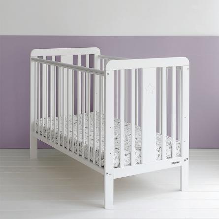 Łóżeczko niemowlęce 120x60, wyprawka dla noworodka, wyprawka dla niewmolaka Woodies