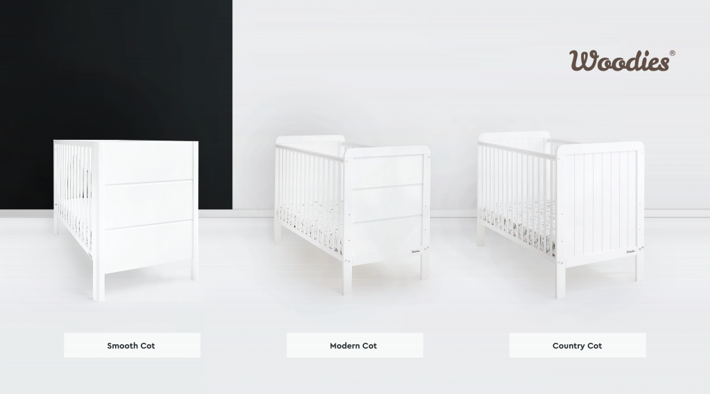 Łóżeczka dziecięce 120x60, łóżeczka niemowlęce, łóżeczka dla dzieci, Woodies