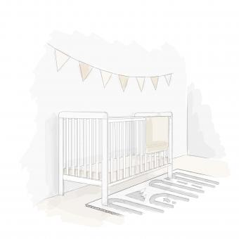 Jak urządzić pokoik dla dziecka i wybrać łóżeczko dziecięce lub niemowlęce w stylu skandynawskim? - 1