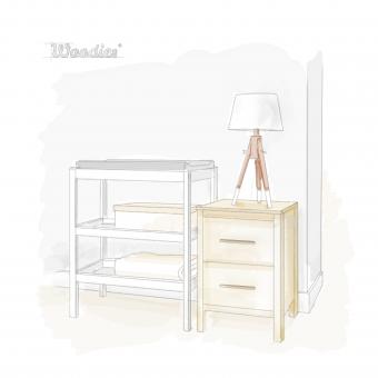 Jak urządzić pokoik dla dziecka i wybrać łóżeczko dziecięce lub niemowlęce w stylu skandynawskim? - 2