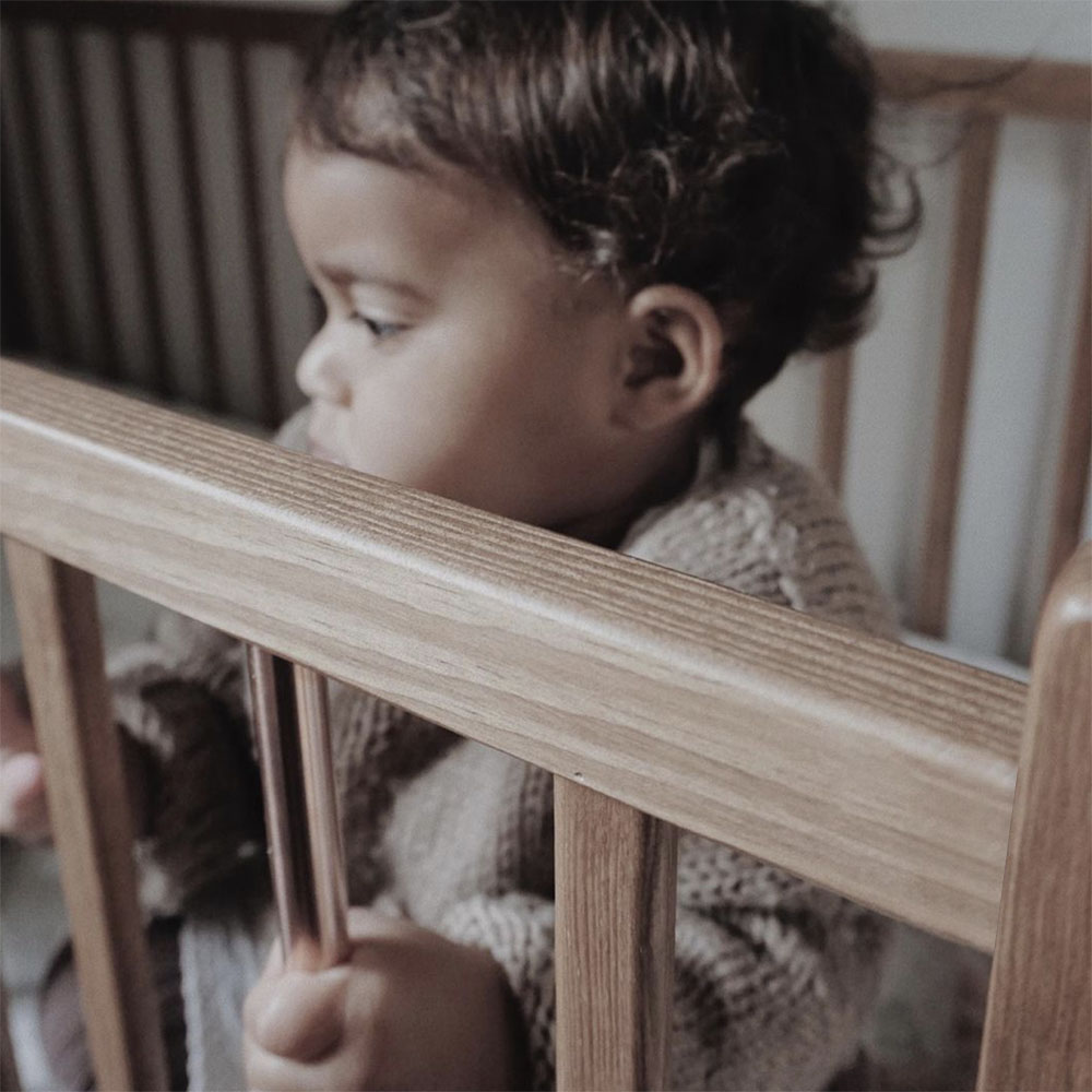 �óżeczko dziecięce i niemowlęce Stardust Cot Vintage Woodies Safe Dreams