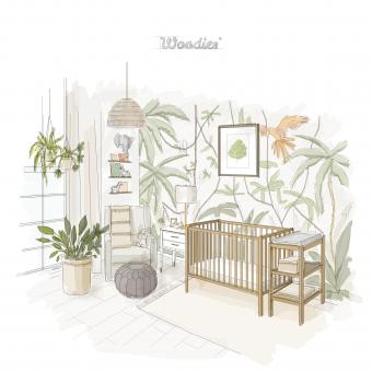 Jak urządzić pokoik dla dziecka i wybrać łóżeczko dziecięce lub niemowlęce w stylu Urban Jungle? - 2