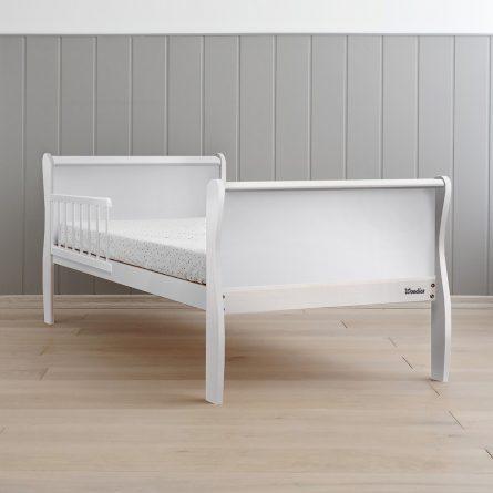 Woodies Noble Toddler Bed White 140x70 lozeczko dla trzylatka, lozko dla starszaka