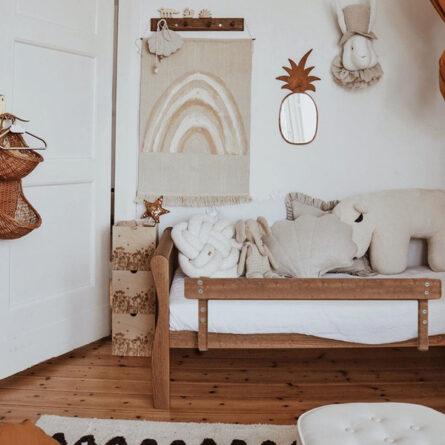 Długo bok do lozeczka dzieciecego Nobel Cot Bed 140x70 Woodies Safe Dreams
